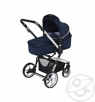 Коляска 3 в 1 Foppapedretti 3 Chic Travel System, цвет: marine