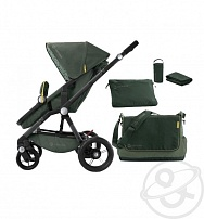 Коляска 3 в 1 Concord Wanderer Travel Set, цвет: jungle green 2016