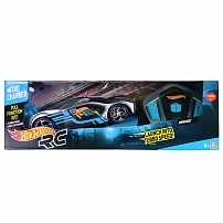 Hot Wheels HW90414 Машинка Хот вилс на батарейках свет+звук на РУ управлении, серая 23 см