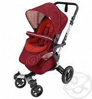 Коляска 3 в 1 Concord Neo travel set, цвет: tomato red