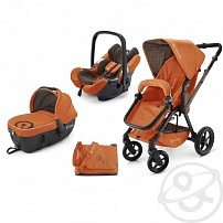 Коляска 3 в 1 Concord Wanderer Travel Set, цвет: rusty orange 2015