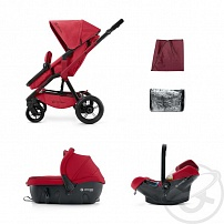 Коляска 3 в 1 Concord Wanderer Travel Set, цвет: ruby red 2015